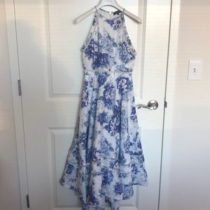 Elliatt floral maxi dress